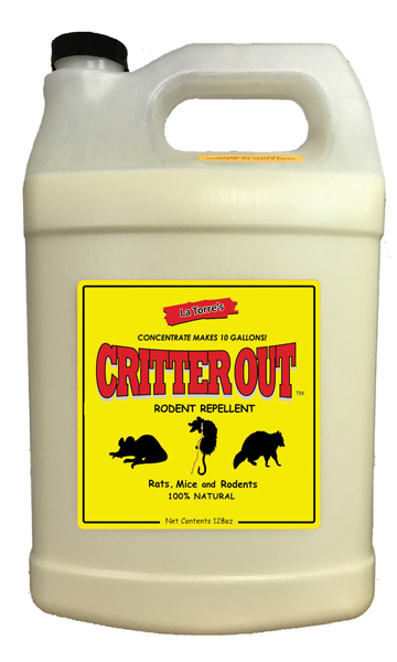 Critter Out 1 gallon Concentrate New